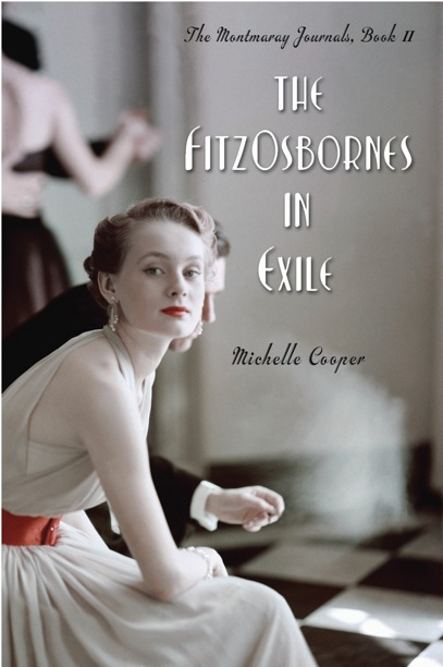 'The FitzOsbornes in Exile' - North American hardcover