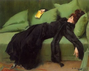 'Jove Decadent' (1899) by Ramon Casas