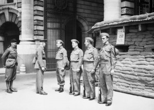 Local Defence Volunteers in London, 1940