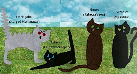 'The Cats of Montmaray' by Ellie Maish p.4