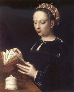 'Mary Magdalene Reading' by Ambrosius Benson