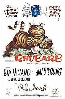 'Rhubarb' (1951 film poster)