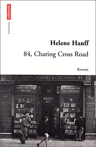 '84, Charing Cross Road' by Helene Hanff