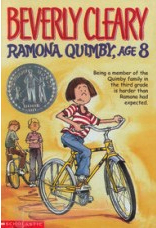 'Ramona Quimby, Age 8' by Beverly Cleary