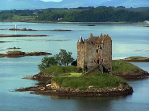 Castle Stalker by Norrie Adamson