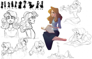 'Sophie character study' by Noah Hayes