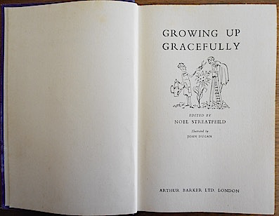 'Growing up Gracefully', edited by Noel Streatfeild