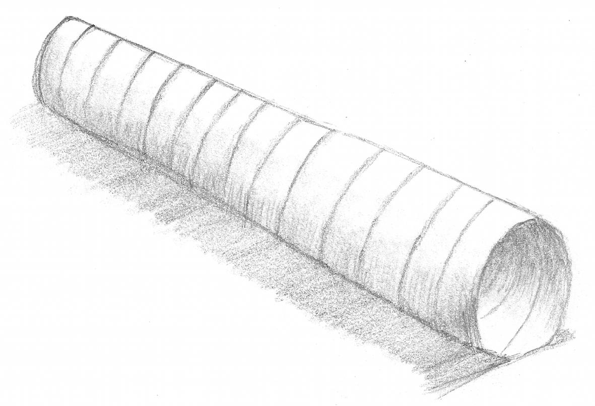 Wonky tube