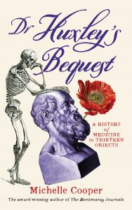 'Dr Huxley's Bequest' front cover